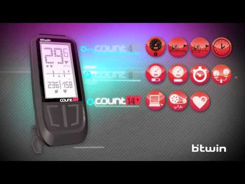 comment installer compteur btwin count 8