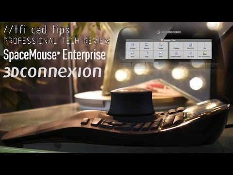 3DConnexion SpaceMouse Enterprise - 3D Mouse Full Review (New for 2016)