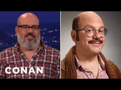 "David Cross Fought For Tobias' Mustache In ""Arrested Development""  - CONAN on TBS"