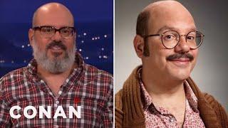 "David Cross Fought For Tobias' Mustache In ""Arrested Development  - CONAN On TBS"
