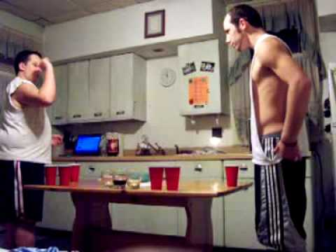 Funny Game Of Beer Pong
