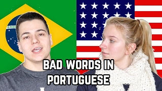 TEACHING MY GIRLFRIEND HOW TO SPEAK BRAZILIAN PORTUGUESE (LEGENDADO)