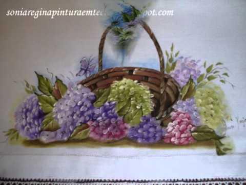 Pintura em Tecidos - Sônia Regina