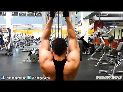 Back Bodybuilding Workout @hodgetwins
