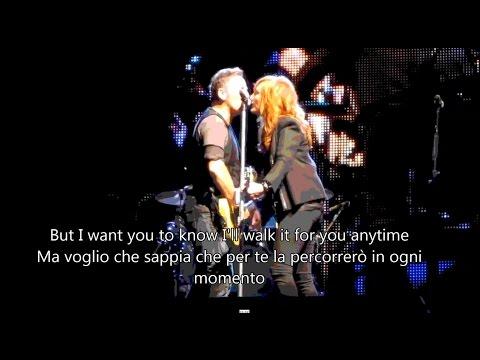Bruce Springsteen & Patti Scialfa - Tougher Than The Rest - Lyrics & sub ITA