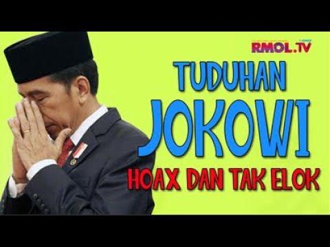 Tuduhan Jokowi Hoax Dan Tak Elok