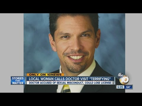 Patient accuses local doctor of sexual misconduct