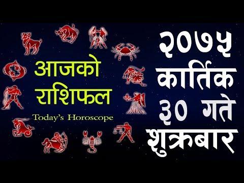 (Aajako Rashifal 2075 Kartik 30, Today's Horoscope November 16,  Friday २०७५ कार्तिक ३०  गते  शुक्रबा - Duration: 10 minutes.)