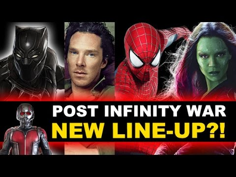 Avengers 3 Infinity War - New Avengers Team?! Review of Characters - Beyond The Trailer