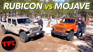 Desert Runner vs Rock Crawler Off-Road Challenge - This New Jeep Gladiator Truck Rules Supreme! by The Fast Lane Truck