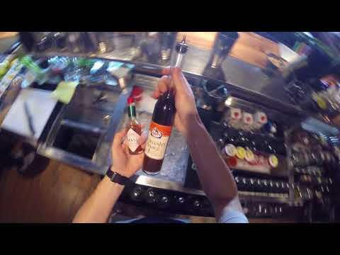 How to make Bloody Mary cocktail by Mr.Tolmach