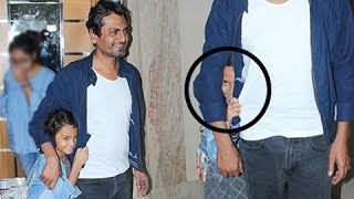 Nawazuddin Siddiqui's daughter is NOT ready for paparazzi. Watch his daughter's cute moments captured by Shutterbugs at the screening of Munna Michael.Report By: Abhishek HalderEdited By: Advait Pansare.Subscribe now and watch for more of Bollywood Entertainment Videos at http://www.youtube.com/subscription_center?add_user=bollywoodnowRegular Facebook Updates https://www.facebook.com/bollywoodnow.  Twitter Updates https://twitter.com/bollywoodnow  Follow us on Pinterest: https://pinterest.com/bollywoodnow  Follow us on Google+ : https://plus.google.com/+bollywoodnow