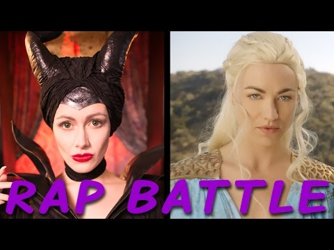 MALEFICENT vs DAENERYS Princess Rap Battle