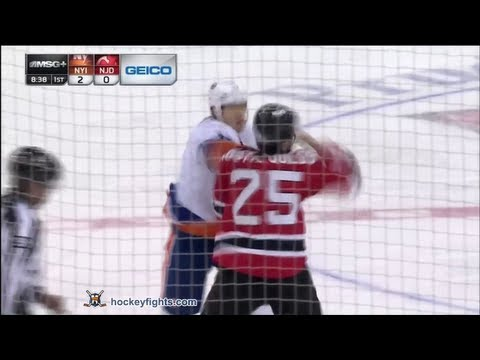 Matt Martin vs Tom Kostopoulos Apr 1, 2013 - YouTube