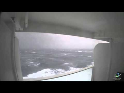 Time-Lapse Captures Royal Caribbean Ship In Storm - Wow!