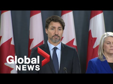 Iran plane crash Trudeau says families of Canadian victims will receive 25,000