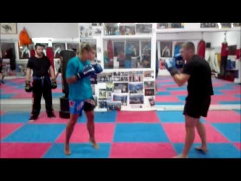 Elisa Qualizza & Nicolae - Sparring in the gym