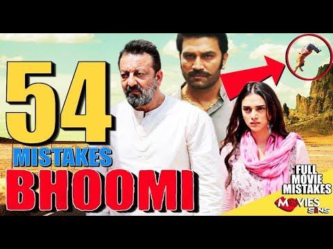 (54 Mistakes) In BHOOMI - Plenty Mistakes In Bhoomi Full Movie | Sanjay |