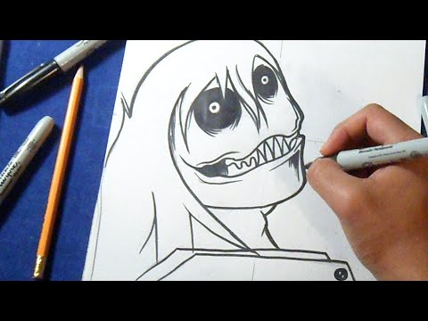 download how to draw jeff the killer step by step easy anime in full