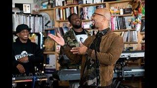 Video August Greene (Common, Robert Glasper, Karriem Riggins): NPR Music Tiny Desk Concert MP3, 3GP, MP4, WEBM, AVI, FLV Mei 2019