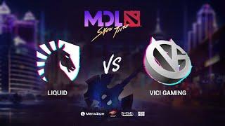 Team Liquid vs Vici Gaming, MDL Macau 2019, bo1, [Jam & Lightofheaven]