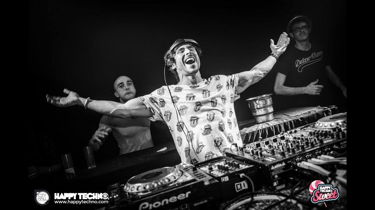 Lexlay - Live @ Happy Techno, CIty Hall Barcelona, September 2015