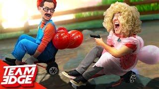 Mario Kart BATTLE In Real Life!! ft: Markiplier!