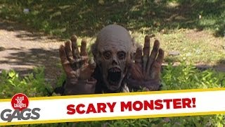 Scary Monster Prank
