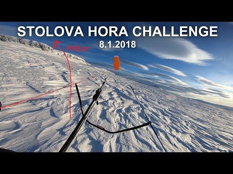 Norway Hallingskarvet on Snowkite