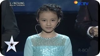 Whisteling Version of Let It Go - Helen Renata Gunawan - SEMIFINAL 4 - Indonesia's Got Talent Video