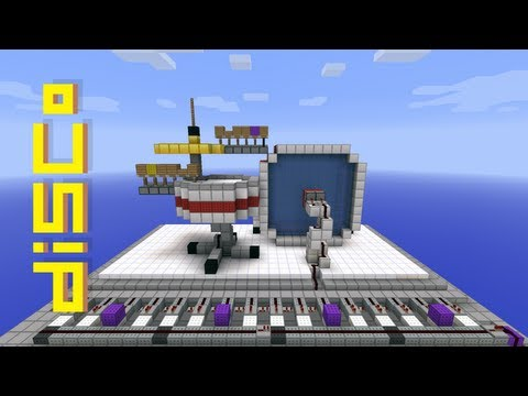 Minecraft Programmable Drum Kit
