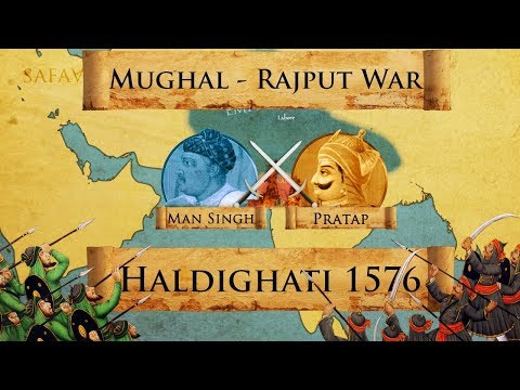 Battle of Haldighati 1576 - Mughal-Rajput War DOCUMENTARY