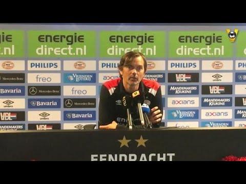 Phillip Cocu over de ziekenboeg bij PSV