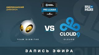 Team Dignitas vs Cloud9 - ESL Pro League S7 NA - de_cache [GodMint]