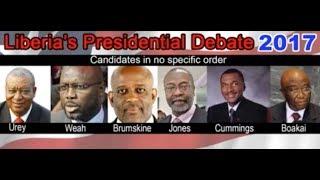 Liberia's Presidential Debate 2017