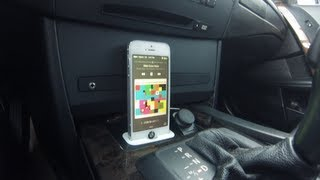 heres a video on how to install the spec.dock on a 5 series e60 BMW. awesome product, and looks amazing on the e60, flows perfectly with the interior and holds the iphone very well. spec.dock for the iphone 5 5s uses an original ipod adapter that allows audio transfer so if you use a iphone cable to aux, it will allow sound, aftermarket cables do not transfer sound. for more information and to purchase a product (i am not affiliated with this company, video shows review, and installation purpose only) visit their official site http://specdock.com/ and if you place an order, let them know you saw their product on my channel!comment and like if you enjoyed the video