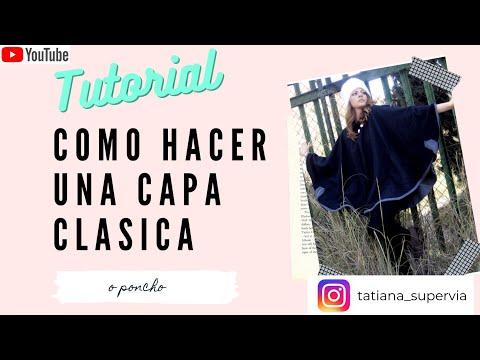 como hacer una capa - Tatiana Supervía , del blog laportamagica.blogspot.com te enseña de forma muy facil ha hacer una capa clásica!! Ve a la moda cosiendo tu propia ropa...en lap...