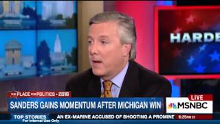10. Steve McMahon on Hardball after Bernie's Michigan Victory | Mar. 10, 2016
