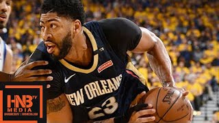 Golden State Warriors vs New Orleans Pelicans Full Game Highlights / Game 1 / 2018 NBA Playoffs