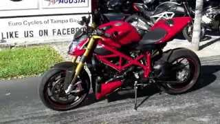 3. Pre-Owned 2011 Ducati Streetfighter 1098S Red at Euro Cycles of Tampa Bay