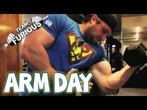 Ultimate Arm Pump Bodybuilding Workout | Furious Pete