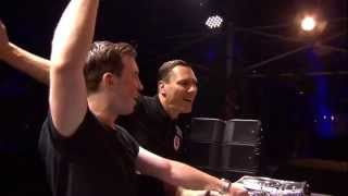 Hardwell & Tiësto Back2back Live at Tomorrowland 2014 FULL HD