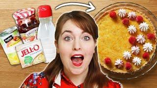 I Baked A Dessert Using Only Random Pantry Items •Tasty by Tasty