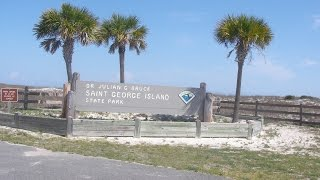 St  George Island State Park and Campground review in Florida Panhandle