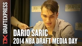 2014 Dario Saric Interview - DraftExpress - NBA Draft Media Day