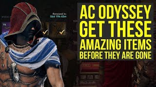Assassin's Creed Odyssey AMAZING ITEMS You Want To Get Before They Are Gone (AC Odyssey)