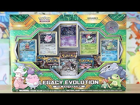 Opening This Legacy Gen 2 Collection Box!!!