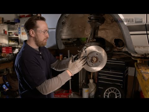 change brakes - Replace your brake pads with the Saturday Mechanic, Ben Wojdyla. Learn how to do it yourself with his step-by-step car repairs and upgrades. Say so long to s...