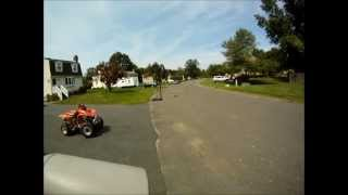 5. GoPro - Honda Xr80 Top Speed