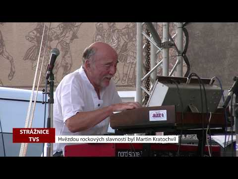 TVS Strážnice - Hvězdou rockových slavností byl Martin Kratochvíl